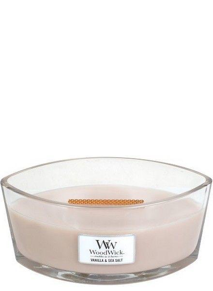 Woodwick Ellipse Vanilla & Sea Salt