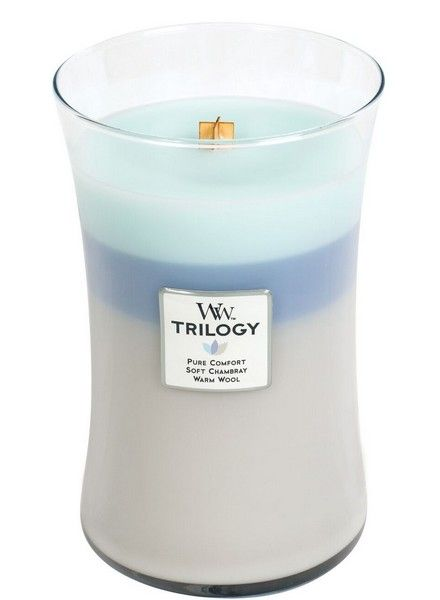 Woodwick WoodWick Woven Comforts Trilogy Large Candle