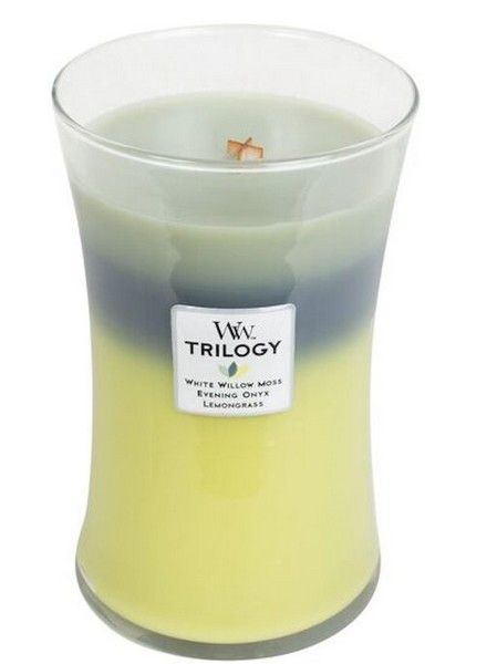 Woodwick WoodWick Woodland Shade Trilogy Large Candle
