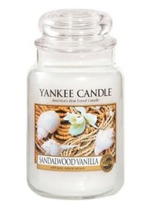 Yankee Candle Sandalwood Vanilla Large Jar