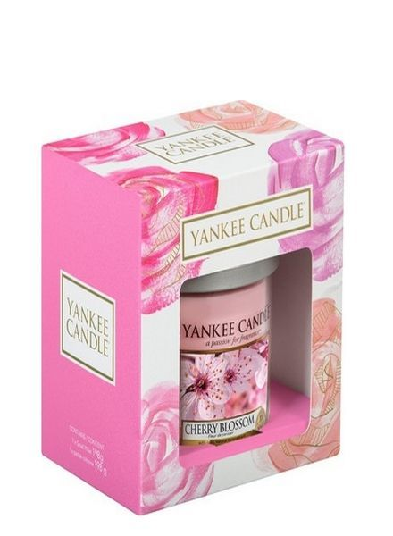 Yankee Candle Gift Set Mothers Day Small Pillar Cherry Blossom