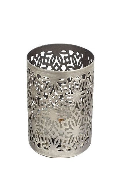 Woodwick Woodwick Petite Candle Holder Brushed Nickel