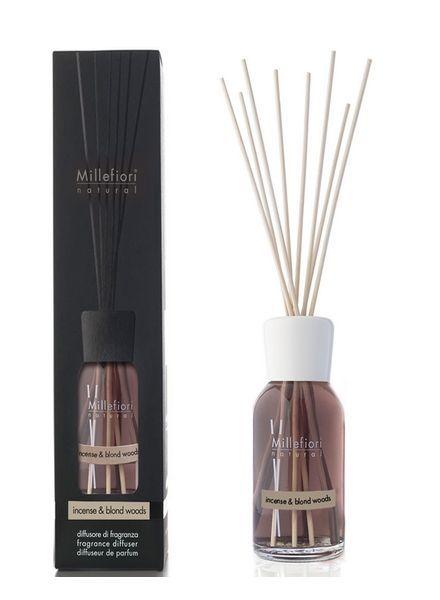 Millefiori Milano  Millefiori Incense & Blond Woods Geurstokjes 100ml
