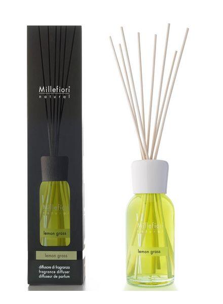 Millefiori Milano  Millefiori Milano Lemon Grass Geurstokjes Natural 100ml