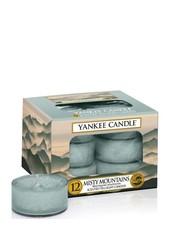 Yankee Candle Misty Mountains Theelichten
