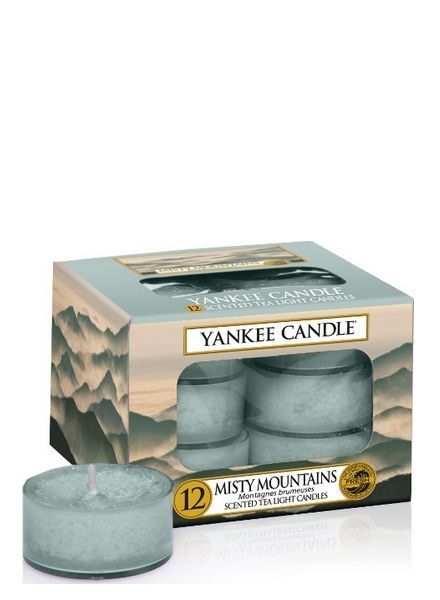 Yankee Candle Misty Mountains Theelichten