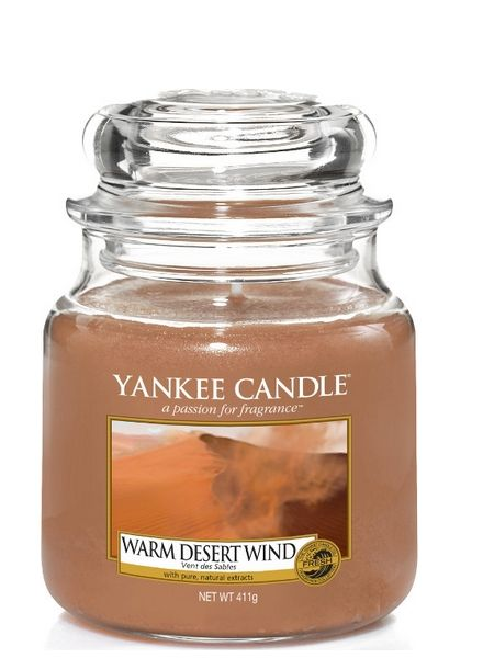 Yankee Candle Yankee Candle Warm Desert Wind Medium Jar