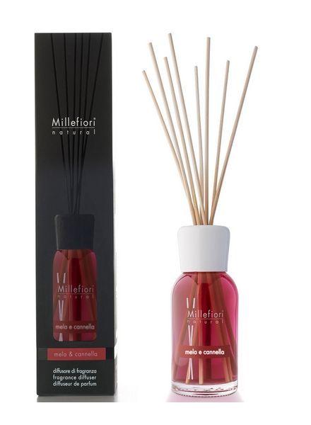 Millefiori Milano  Millefiori Mela & Cannella Geurstokjes 100ml