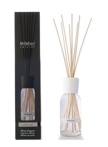 Millefiori Milano  Millefiori White Musk Geurstokjes 100ml