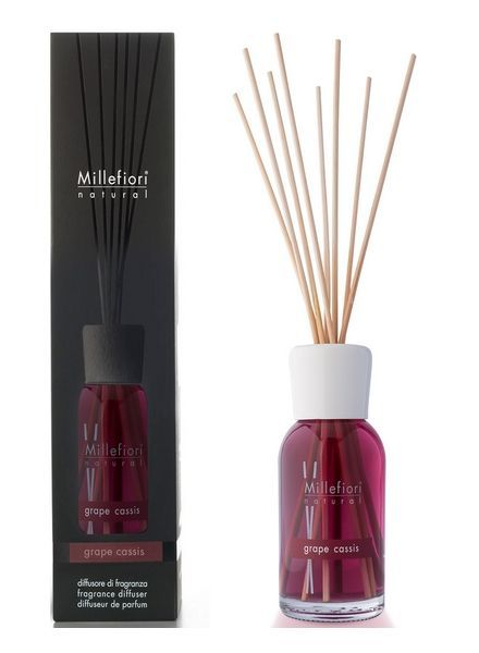 Millefiori Milano  Millefiori Grape Cassis Geurstokjes 250ml
