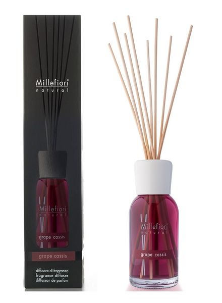 Millefiori Milano  Millefiori Milano Grape Cassis Geurstokjes Natural 250ml