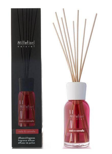 Millefiori Milano  Millefiori Milano Mela & Cannella Geurstokjes Natural 250ml