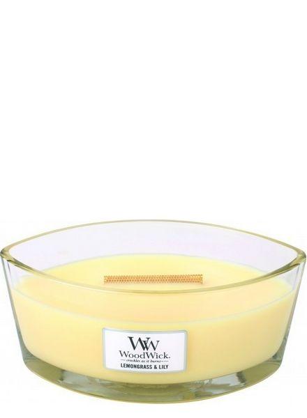 Woodwick WoodWick Lemongrass & Lily Ellipse