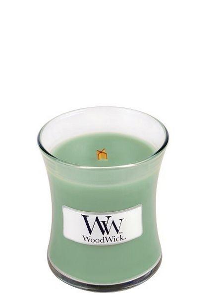 Woodwick WoodWick Mini Candle White Willow Moss