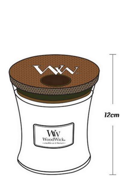 Woodwick WoodWick Medium Candle White Willow Moss