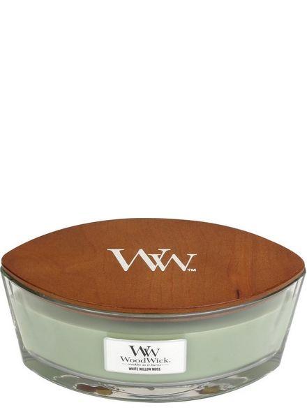 Woodwick WoodWick White Willow Moss Ellipse