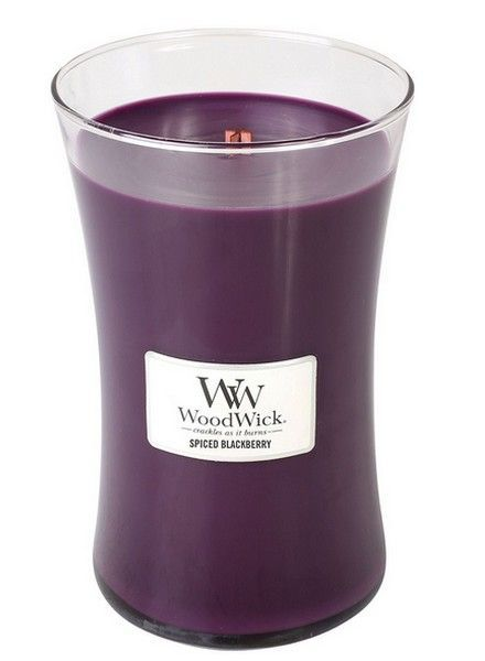 Woodwick Large Spiced Blackberry