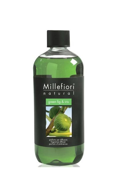 Millefiori Milano  Millefiori Green Fig & Iris Navulling 250ml