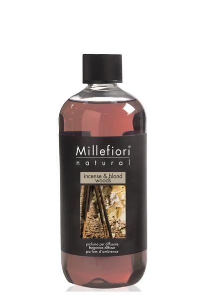 Millefiori Milano  Millefiori Incense & Blond Woods Navulling 250ml