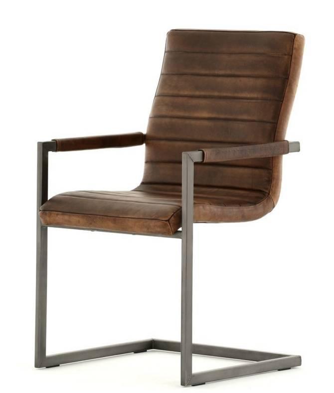 Buffel leren stoel wave 179 00 gratis bezorgd for Leren stoel