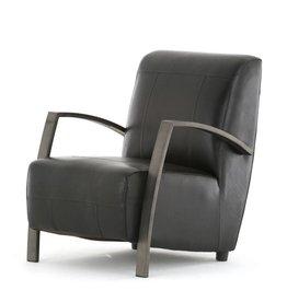 J&T Buffel leren fauteuil Como
