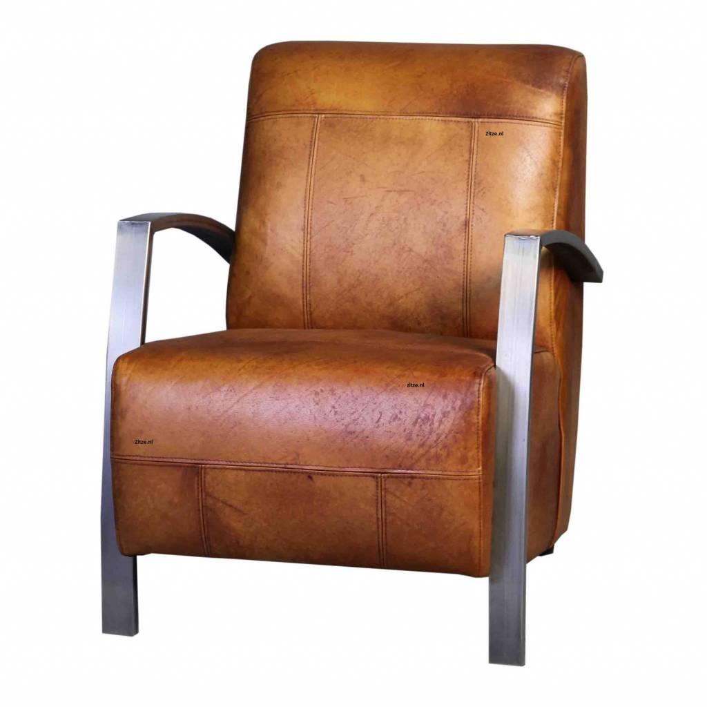 Buffel leren fauteuil como zitze zo - Moderne fauteuils ...