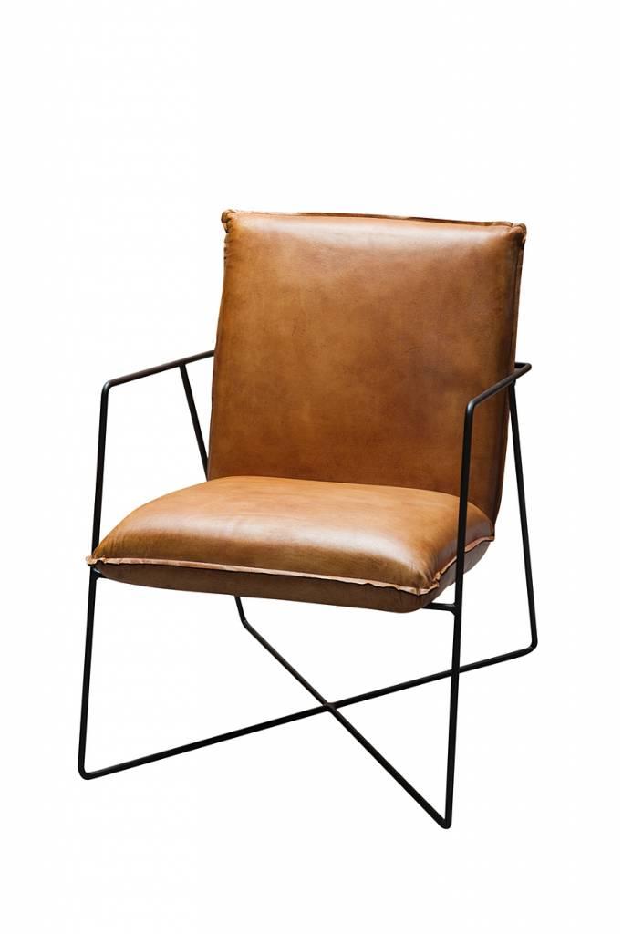 Buffel leren stoel dining fine gratis bezorgd zitze zo for Leren stoel