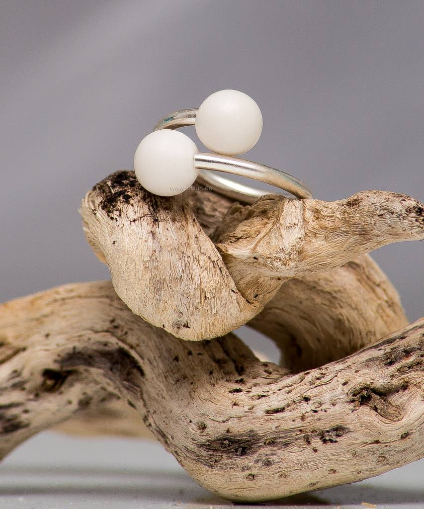 Miluh Manufaktur Ring Double Pearl