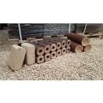 Holzbriketts - Unterschiedliche Sorten - Mengenrabatt ab 2 Paletten