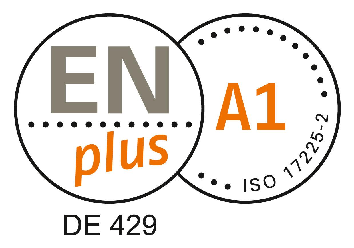 EnPlus A1 Zertifikat Holzpellets