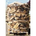 Trockenes Kaminholz - reine Buche - auf Palette