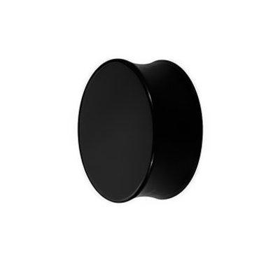 Acrylic Plug - Black