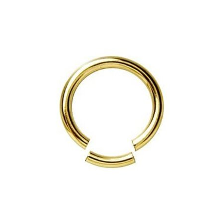 18K Gold Plated Segment Ring - XL