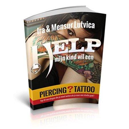 Boek Help! Mijn kind wil een Piercing / Tattoo!