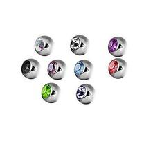 Piercing Ball - Crystal