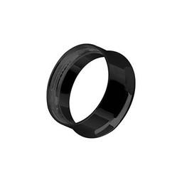 Black Steel Tunnel - Internal Thread