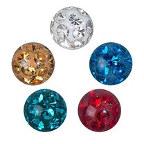 Crystal Evolution Swarovski Elements - Piercing Ball 5mm