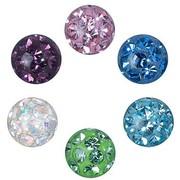 Crystal Evolution Swarovski Elements - Piercing Ball 6mm
