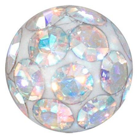 Crystal Evolution Swarovski Elements - Piercing Balletje 6mm