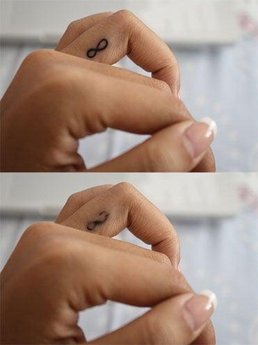 Finger Tattoos Piercings Works