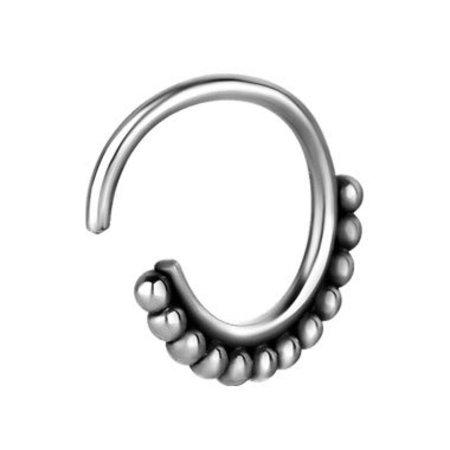 Chirurgisch Stalen Neus Ring - Bolletjes