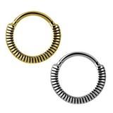 Piercing Ring - Veer Textuur