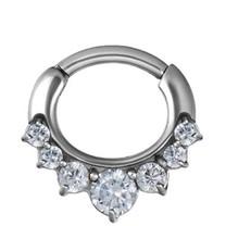 Septum Click Ring - Crystals