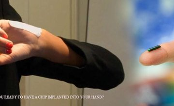 Are you ready to have a chip implanted into your hand?