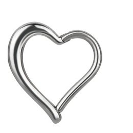 Surgical Steel Helix - Heart