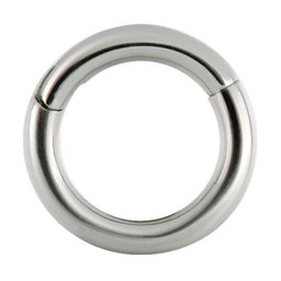 Surgical Steel Segment Ring - Basic (1,2mm)