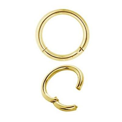 Gold Plated Segment Ring - Basic (1.6mm)