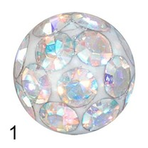 Piercing Ball - Swarovski 3mm