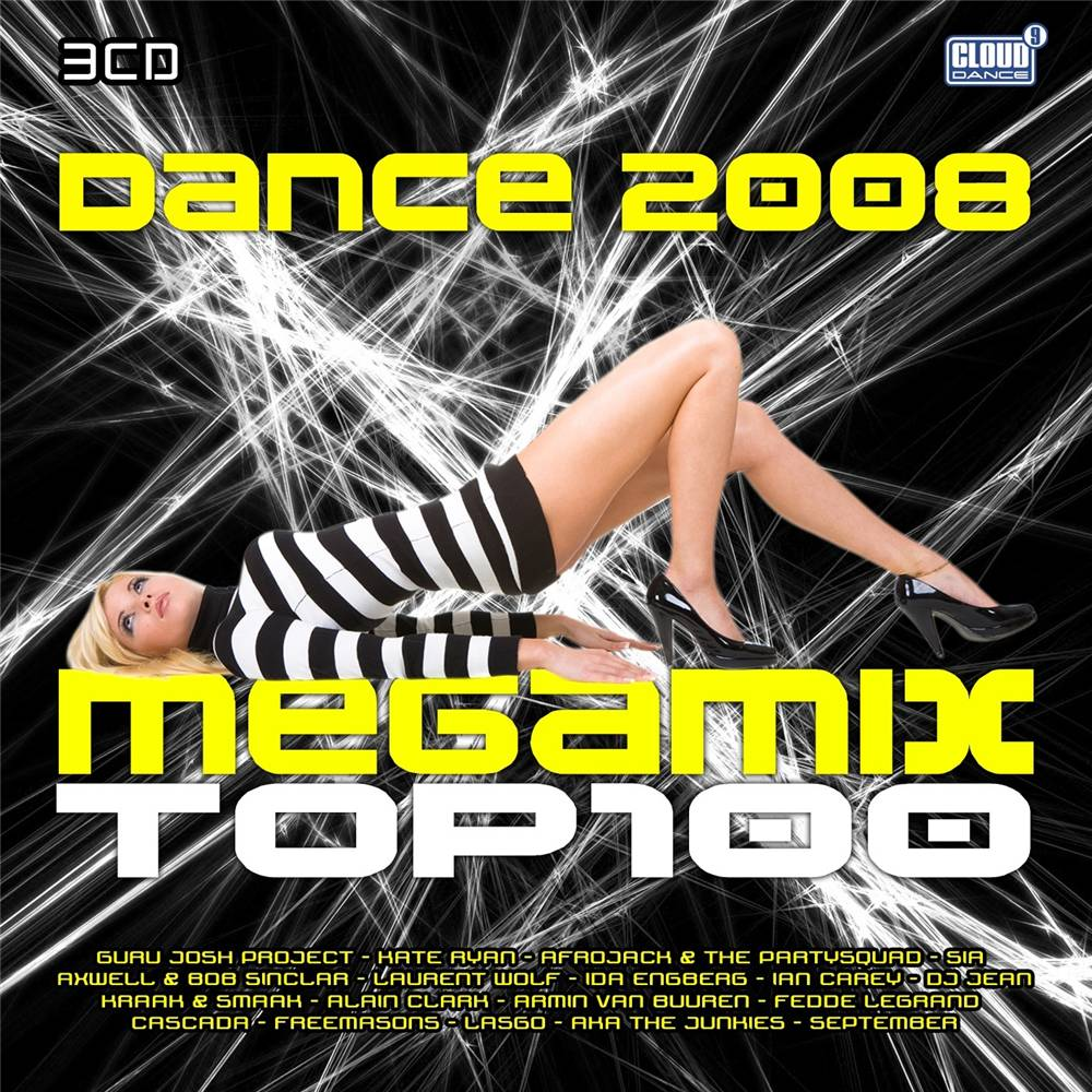 Dance Mega Mix Top 100 2008