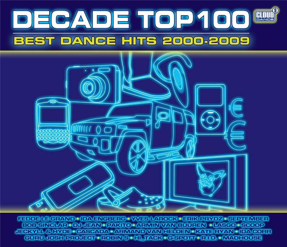 Decade Top 100 Best Dance Hits